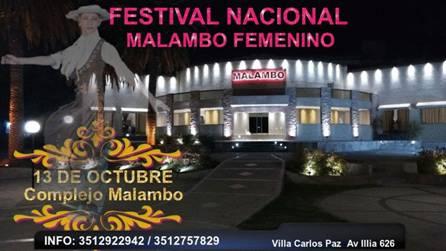 FESTIVAL NACIONAL DE MALAMBO FEMENINO